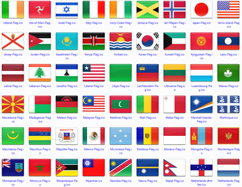 172 final country flag icons screenshot 3