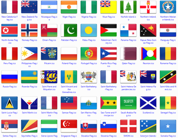 172 final country flag icons screenshot 4