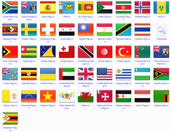 172 final country flag icons screenshot 5