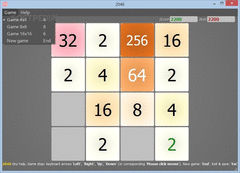2048 Game Girls Choice For Windows Desktop screenshot 4