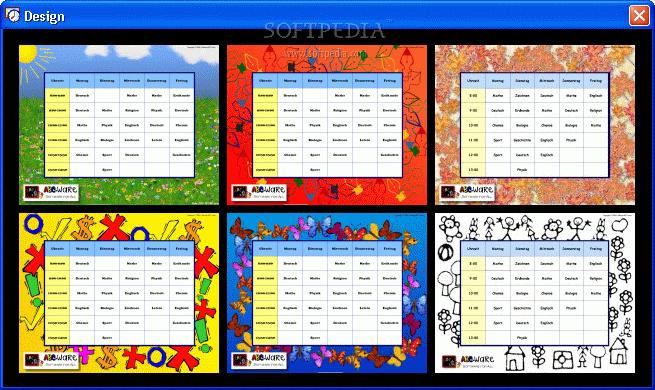 how to create your own timetable