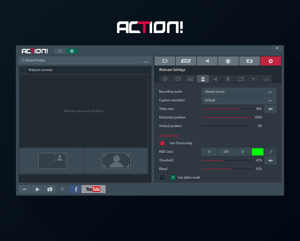 how to get action recording software for free