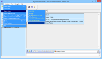 Aglowsoft SQL Query Tools screenshot 2