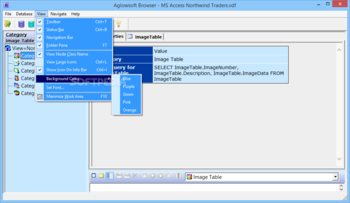 Aglowsoft SQL Query Tools screenshot 4