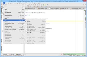 Android Studio screenshot 10