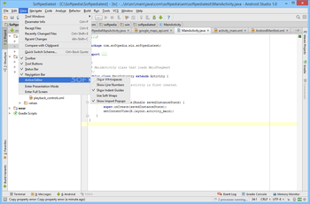 Android Studio screenshot 11