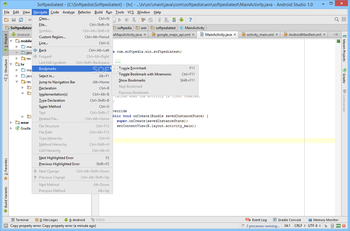 Android Studio screenshot 12