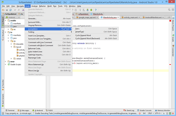 Android Studio screenshot 13