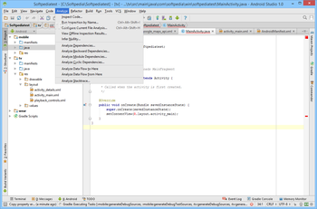 Android Studio screenshot 14