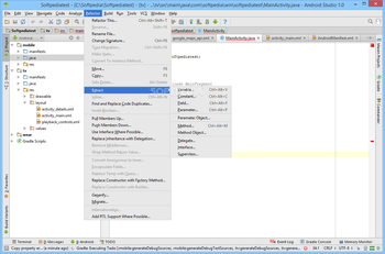Android Studio screenshot 15