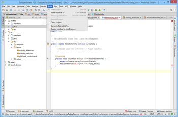 Android Studio screenshot 16
