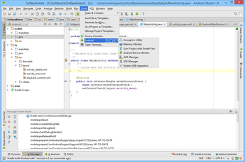 Android Studio screenshot 18