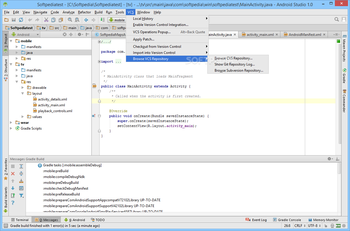 Android Studio screenshot 19