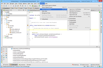 Android Studio screenshot 20