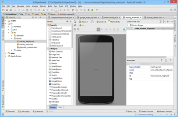Android Studio screenshot 7