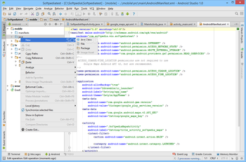 Android Studio screenshot 8