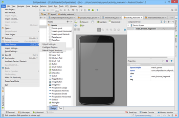 Android Studio screenshot 9