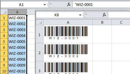 BarCodeWiz Code 128 Barcode Fonts - Review and Download