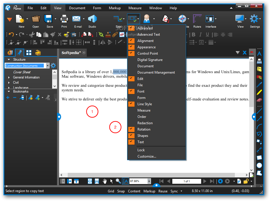 Bluebeam Revu eXtreme - Download Free with Screenshots and