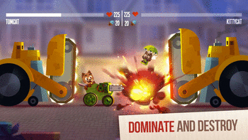 CATS: Crash Arena Turbo Stars For PC screenshot 2