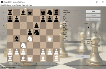 Chess 2020 screenshot