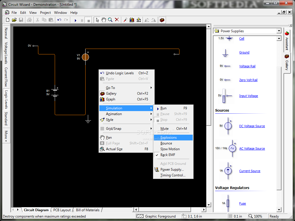 Circuit Wizard Standard Edition Download Free With Screenshots And Of Pcb Editions Will Allow You To Design New Circuits Screenshot 1 2