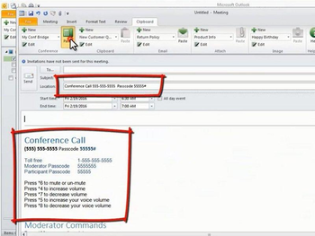 Clipboard for Microsoft Outlook screenshot 2