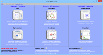 Core Math Tools screenshot