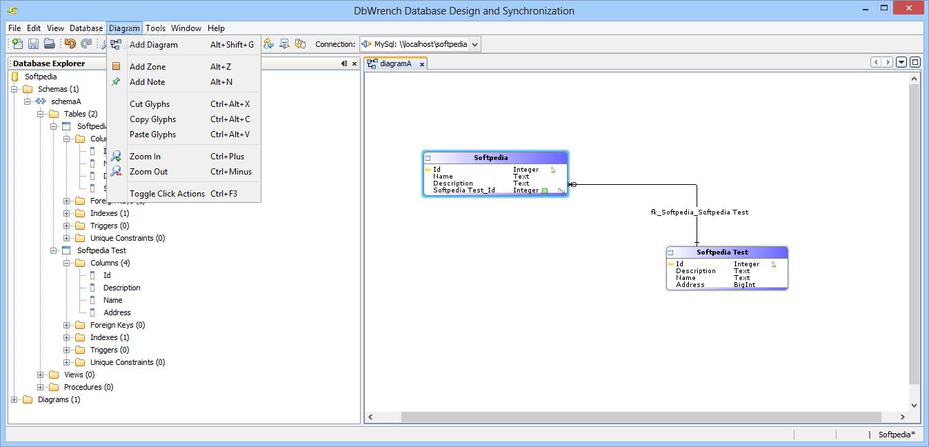 Databasse Design /& Synchronization Tool DbWrench PROMO