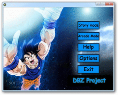 Dragon Ball Z Project screenshot
