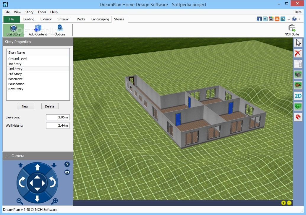 Ordinaire DreamPlan Home Design Software Screenshot 6 Download Free With Screenshots