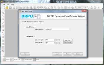 Drpu business card maker software download free with screenshots drpu business card maker software screenshot reheart