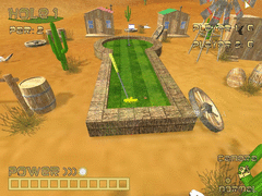 Dynamite Dust Mini Golf screenshot 4