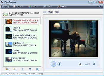 e2eSoft VCam screenshot