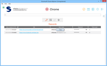 Elcomsoft Cloud eXplorer screenshot 7