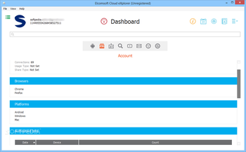 Elcomsoft Cloud eXplorer screenshot 8