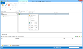 EMCO MSI Package Builder Professional screenshot 2