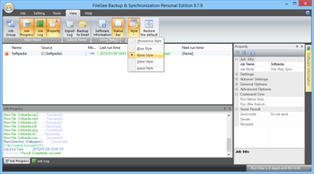 FileGee Backup & Sync Personal Edition screenshot 10