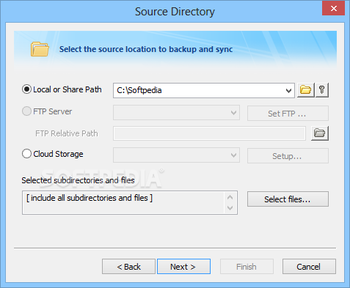 FileGee Backup & Sync Personal Edition screenshot 3