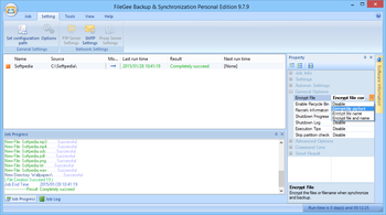 FileGee Backup & Sync Personal Edition screenshot 6