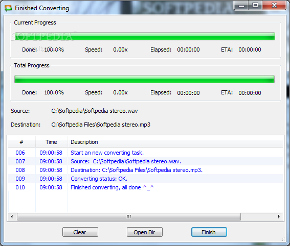 Free WAV MP3 Converter - Download Free with Screenshots and