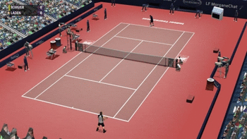 Full Ace Tennis Simulator screenshot
