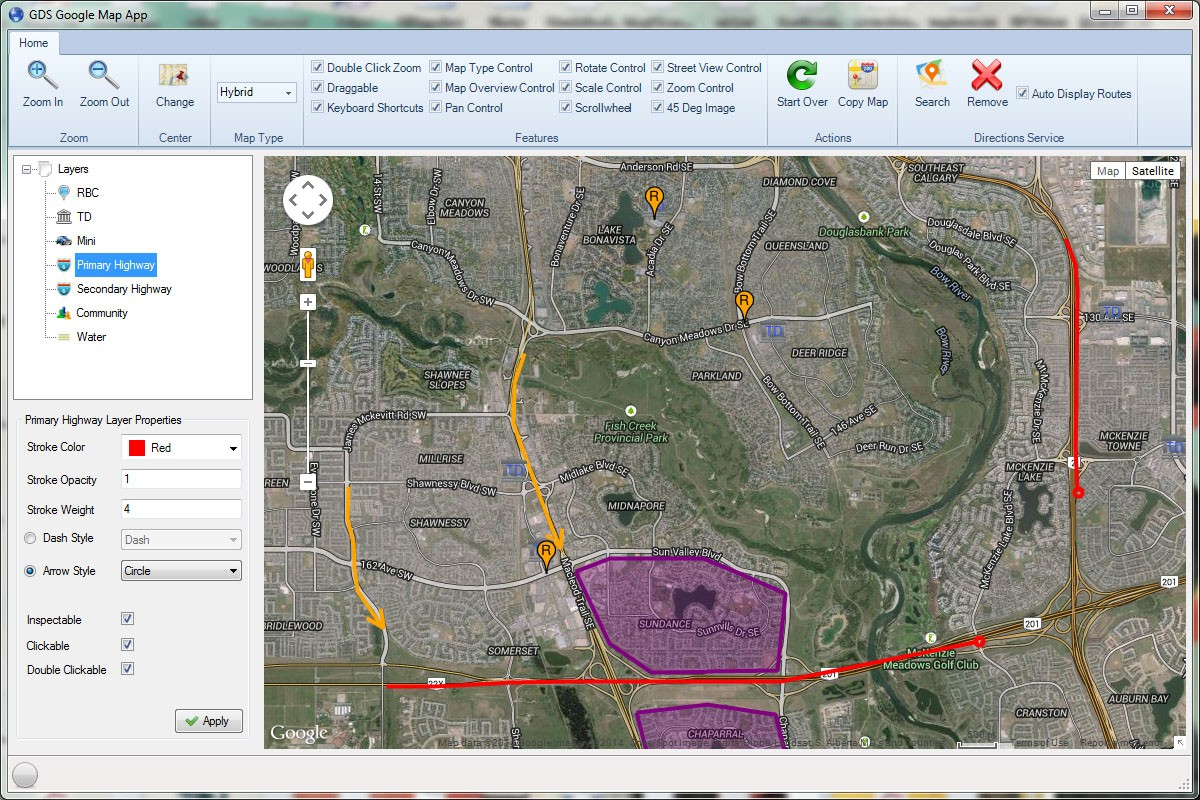 Gds Google Map Winforms Control Download Free With