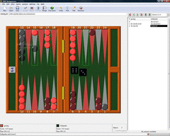 GNU Backgammon screenshot