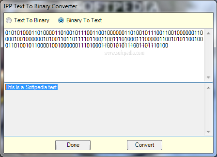 Online image binary converter
