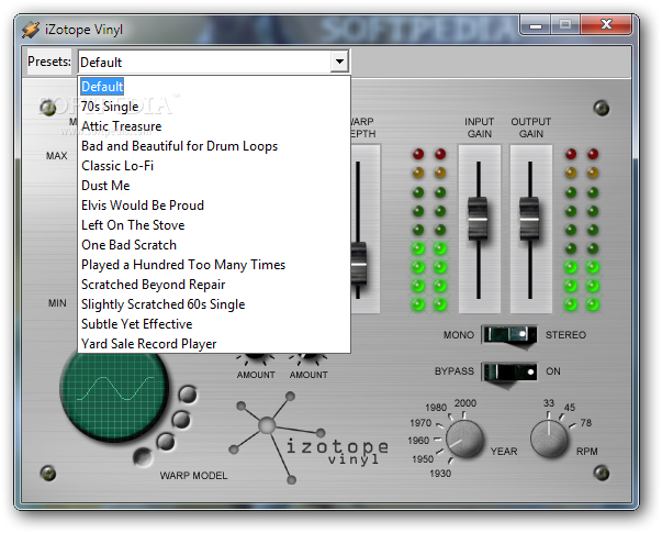 iZotope Vinyl - Download Free with Screenshots and Review
