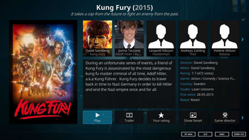 Kodi screenshot 2