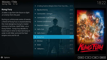 Kodi screenshot 3