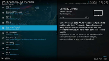 Kodi screenshot 4