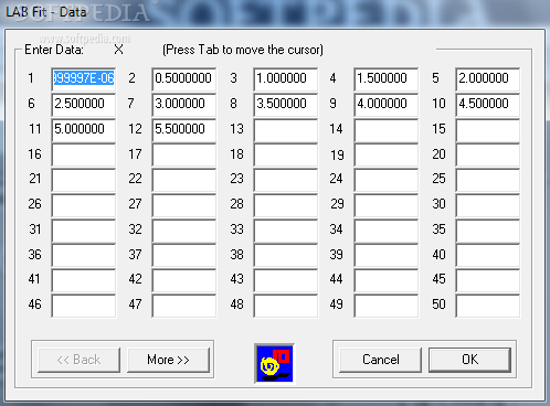 LAB Fit Curve Fitting Software - Review and Download